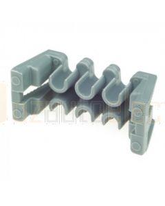 Delphi 12052850 Metri-Pack TPA 6 Way Grey Secondary Lock