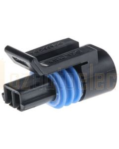 Delphi 12162193 2 Way Black Metri-Pack 150.2 Sealed Female Connector Assembly