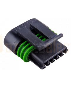 Delphi 12162826 5 Way Black Metri-Pack 150.2 Sealed Female Connector