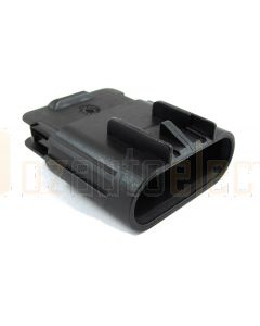 Delphi 15326633 4 Way Black GT 280 Sealed Male Connector Assembly, Max Current 25 amps