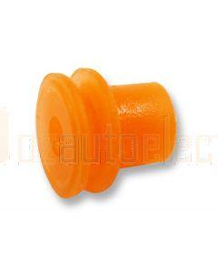 Delphi 15366065 Orange Individual Loose Round 1 Way Cable GT Seal