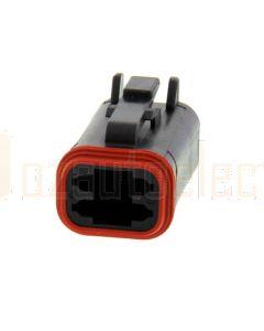 Deutsch DT06-4S-CE06 DT Series 4 Socket Plug