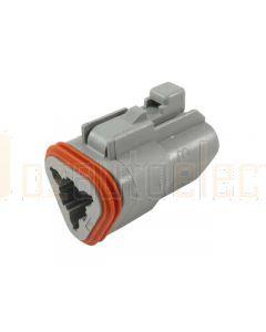 Deutsch DT06-3S-C015 DT Series 3 Socket Plug