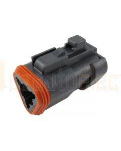 Deutsch DT06-3S-EP06 DT Series 3 Socket Plug