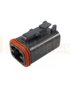 Deutsch DT06-4S-E004 DT Series 4 Socket Plug