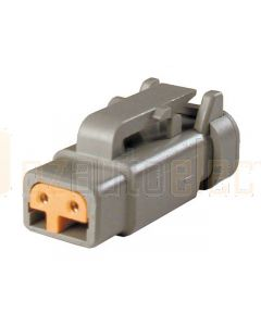 Deutsch DTM06-2S-P006 DTM Series 2 Socket Plug