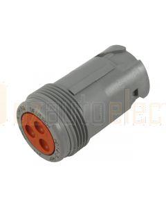 Deutsch HD14-3-96P HD10 Series 3 Pin Receptacle
