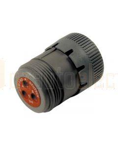 Deutsch HD16-3-96S HD10 Series 3 Socket Plug