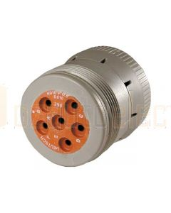 Deutsch HD16-6-12S-B010 HD10 Series 6 Socket Plug