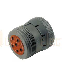 Deutsch HD16-6-96S HD10 Series 6 Socket Plug
