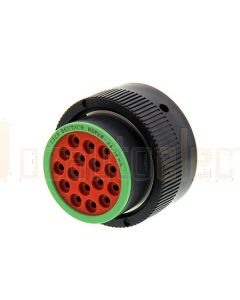 Deutsch HDP26-24-16SN HDP20 Series 16 Socket Plug