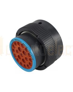 Deutsch HDP26-24-21SE HDP20 Series 21 Socket Plug