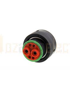 Deutsch HDP26-18-6SN HDP20 Series 6 Socket Plug