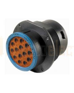 Deutsch HDP24-18-14PE HD20 Series 14 Pin Receptacle