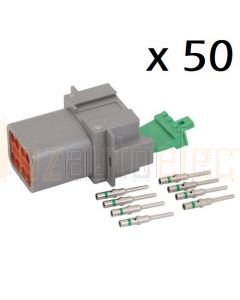 Deutsch DT Series 8 Way Receptacle Kit (box of 50)