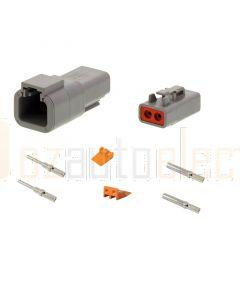 Deutsch DTP Series 2 Pole Connector Kit