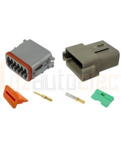 Deutsch DT12-4 12 Way Connector Kit with Gold Contacts