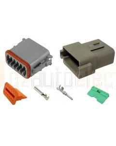 Deutsch DT Series 12 Way Connector Kit with F Crimp Contacts