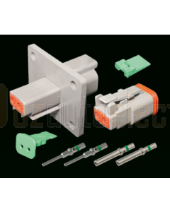 Deutsch DT Series DT2-1-L012 Flange Mount Connector Kit