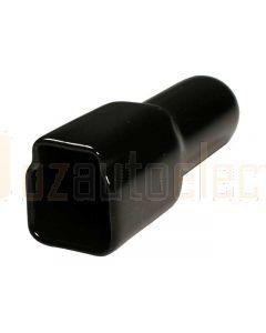 Deutsch DT3S-BT-BK 2 Way Plug Black Silicon Rubber Boot
