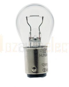 Hella FD1221 Double Contact Turn Signal or Stop Lamp Globe 12V 21W (Box of 10)