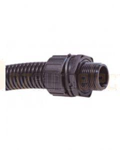 Quikcrimp Complete Straight Adaptor Body - 16mm, 16mm Thread