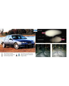 Ford Falcon EF/EL (1994 >1998) Headlamp Globe Upgrade Kit