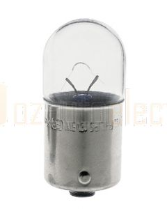 Hella G610 6V 10W BA15s Rear Position, Marker and Clearance Lamp Globe Single Contact
