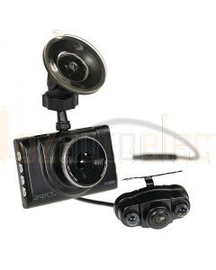 Gator GHDVR52R Full HD 1080p dash camera with rear view camera