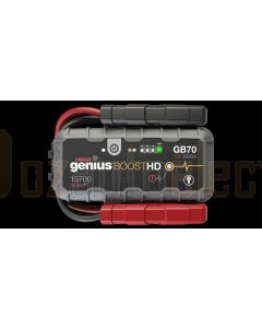 Noco GB70 Genius Boost HD 2000 Amp UltraSafe Lithium Ion Jump Starter