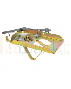 Projecta HDBT102 Heavy Duty Dual Battery Tray suit for Toyota 80 Series Landcruiser
