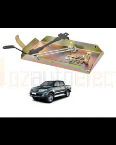 Projecta HDBT112 Heavy Duty Dual Battery Tray suit for Toyota Landcrusier Prado 150 Series
