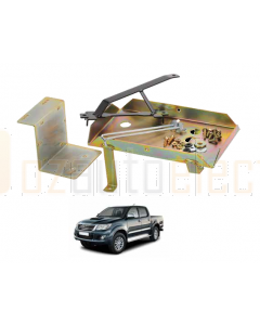 Projecta HDBT114 Heavy Duty Dual Battery Tray suit for Toyota Hilux 25 Series