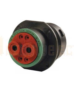 Deutsch HDP24-18-6PN 6 Way Receptacle