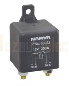 Narva 68022 12V 200Amp 4 Pin Heavy Duty Relay