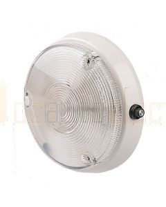 Hella Marine 2JA998513-001 15W Incandescent Lamps, Surface Mount - 12V DC, White Housing with Switch