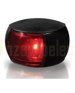 Hella 2LT980520-061 2 NM BSH NaviLED Port Navigation Lamp, Black Shroud - Red Lens (120mm Cable)
