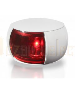 Hella 2LT980520-071 2 NM BSH NaviLED Port Navigation Lamp, White Shroud - Red Lens (120mm Cable)