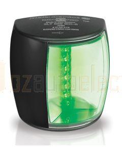 Hella 2LT959908-601 2 NM BSH NaviLED PRO Starboard Navigation Lamp - Black Shroud, Ultra Heavy Duty Lens