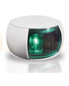 Hella 2LT980520-291 2 NM BSH NaviLED Starboard Navigation Lamp - White Shroud, Coloured Lens (2.5m Cable)