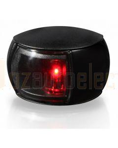 Hella 2LT980520-131 2 NM NaviLED Port Navigation Lamp, Black Shroud - Clear Lens (2.5m Cable)