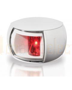 Hella 2LT980520-161 2 NM NaviLED Port Navigation Lamp, White Shroud - Clear Lens (2.5m Cable)