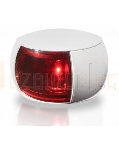 Hella 2LT980520-041 2 NM NaviLED Port Navigation Lamp, White Shroud - Red Lens (2.5m Cable)
