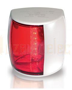 Hella 2LT959900-011 2 NM NaviLED PRO Port Navigation Lamp, White Shroud - Red Lens