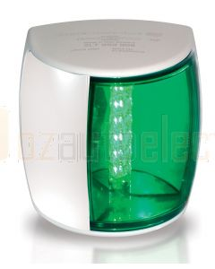 Hella 2LT959908-011 2 NM NaviLED PRO Starboard Navigation Lamp - White Shroud, Green Lens