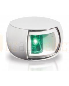 Hella 2LT980520-311 2 NM NaviLED Starboard Navigation Lamp - White Shroud, Clear Lens (120mm Cable)