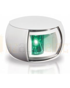 Hella 2LT980520-361 2 NM NaviLED Starboard Navigation Lamp - White Shroud, Clear Lens (2.5m Cable)