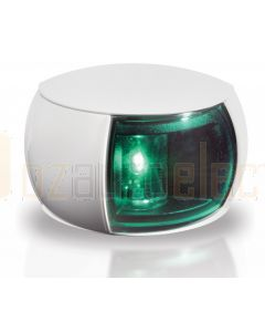 Hella 2LT980520-241 2 NM NaviLED Starboard Navigation Lamp - White Shroud, Coloured Lens (2.5m Cable)