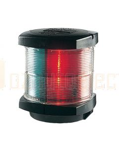 Hella 2844 2 NM Tri-Colour Navigation Lamp - 12V DC, Black Housing