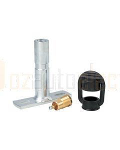 Hella 2-Pole Beacon Mount - Flat (8007FM)